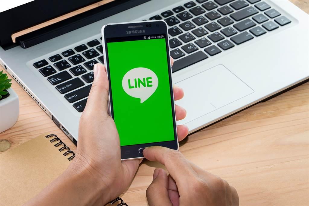 LINE官方近期公告將終止電話號碼登入,帳號未移轉好友、貼圖全消失。(圖/示意圖,達志影像)