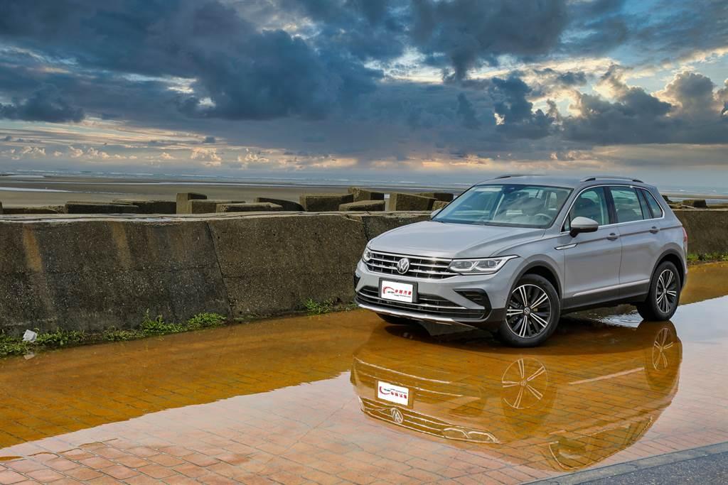在上市5年後,Volkswagen推出第二代Tiguan小改款車型。(陳彥文攝)