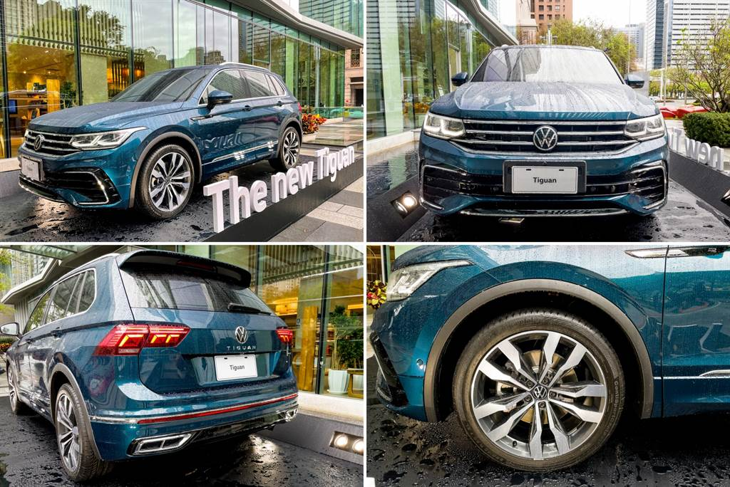 除了試駕的280 TSI Elegance外,試駕會現場還展出預計4月16日發表的380 TSI R-Pefromance,包括頭尾保桿都有鍍鉻裝飾,輪圈則為19吋Suzuka輪圈。(陳彥文攝)