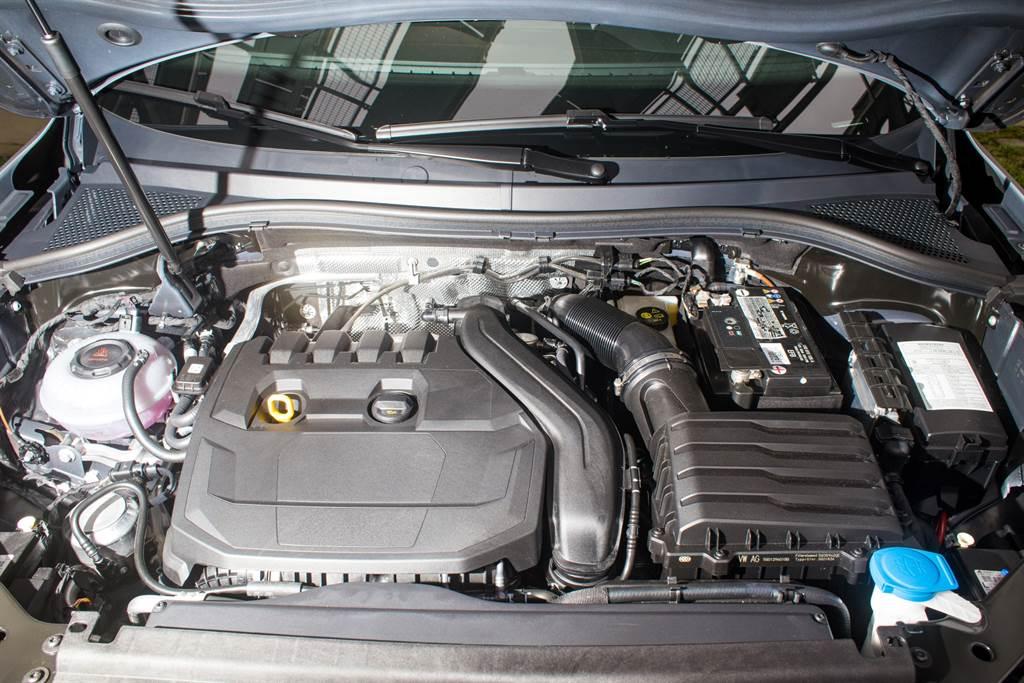 代號EA211 Evo的1.5L缸內直噴渦輪增壓引擎,更著重效率與節能,具備ACT汽缸休止系統。(陳彥文攝)