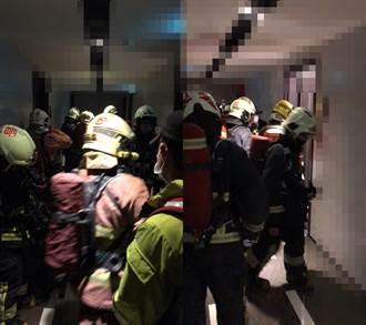 疑行動電源爆炸 五股男左手剩1指黏掌上 消防急救援撿斷肢