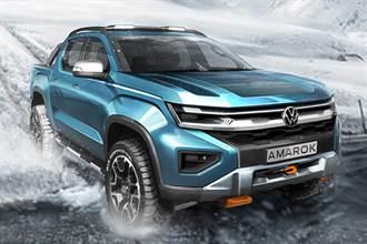 與Ford合作下的產物 Volkswagen釋出新一代Amarok預示圖