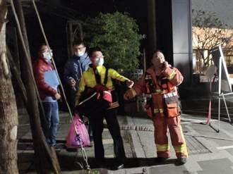 五股男手被炸到剩一指 救護員急找「接回大拇指」
