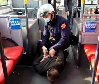 北市醉男搭公車暴走 藉口找帽子持酒瓶打人