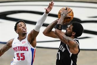 《時來運轉》NBA賽事分析推薦:布魯克林籃網 @ 底特律活塞 07:00