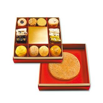 高階喜餅搶市單盒4380元