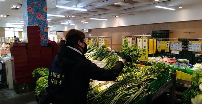 桃衛抽驗清明節應景食品 檢出1件香菜農藥超標 - 生活