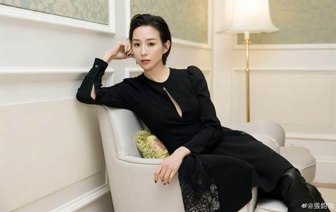 張鈞甯在大陸演藝圈發展多年,深受粉絲喜愛。(取自張鈞甯微博)
