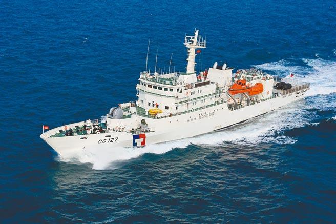 我將與美國簽署海巡合作備忘錄,圖為海巡署新北艦。(海巡署提供)