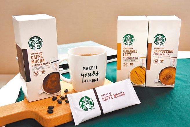 雀巢與星巴克結盟,身在家中也能喝到星巴克咖啡,包括摩卡風味拿鐵、卡布奇諾及焦糖拿鐵等3款,即起摩卡風味也獨家於全台7-11超商通路販售,單盒135元。(雀巢提供)