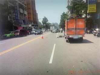 影》貨車併排3秒奪命 開車門擊落單車少年 倒地遭後車輾頭身亡