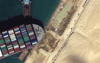 【長榮輪卡運河】長賜輪擱淺原因不明 蘇伊士當局與日本船東陷矛盾