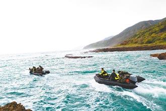 搜尋飛官 無人機、水下作業齊發