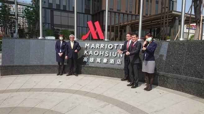 高雄萬豪酒店掛牌 成為台灣第二家萬豪酒店 - 財經