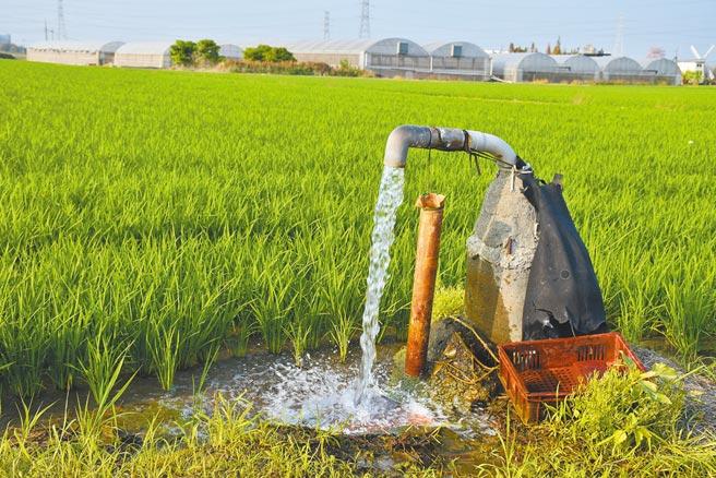 全台鬧水荒,抽地下水情況較往年多又密集,根據水利署監測,嘉義區地下水位已較去年同期低1公尺。(呂妍庭攝)