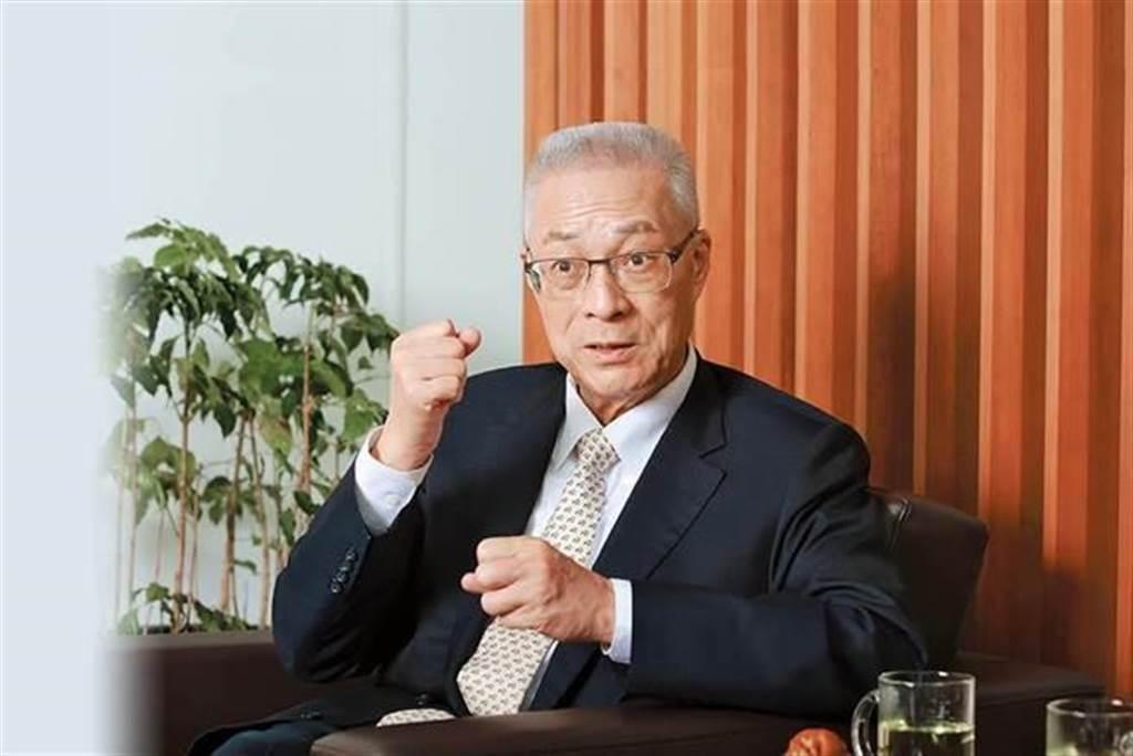 前國民黨主席吳敦義。(中時資料照)