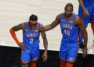 NBA》這是哪招?荷福德宣告不再替雷霆出賽