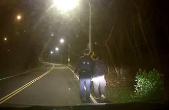 男与妻吵架离家徒步9公里 中市警成功寻人返家团圆