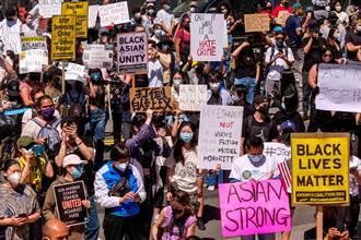 洛杉磯亞裔示威 台僑:30年來首見亞裔大團結
