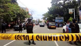影》印尼教堂爆炸瞬間畫面曝光 炸彈客自爆亡 屍塊散落一地
