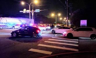 改裝車聚集工業區競速 大園警方口袋戰術逮8車開罰