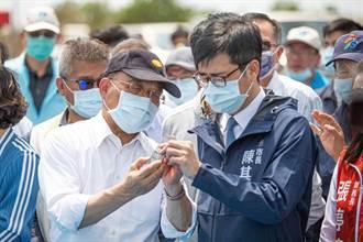 蘇貞昌視察大樹興田伏流水 呼籲加速水資源開發