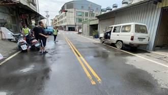 哇!好浪費 和美鎮市區馬路自來水管狂漏5天才修復