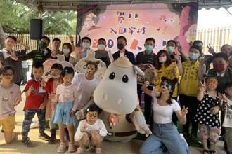 新竹市立動物園入園突破200萬人 林智堅感謝市民朋友支持肯定