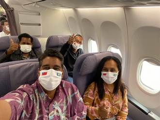 帛琉總統惠恕仁率團抵台  疫情後首位到訪元首