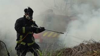 掃墓不燒墓 台中市消防局統計 雜草火警337件