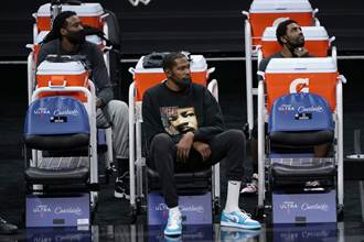 NBA》三巨頭將到齊?籃網主帥放話KD還需1周