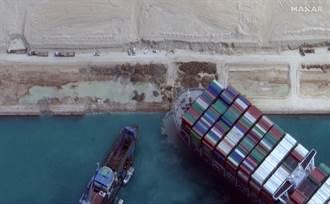 蘇伊士運河塞船阻斷航運 敘利亞實施燃料配給