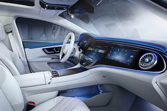 豪華純電旗艦逐漸揭開神秘面紗 Mercedes-Benz率先釋出車室定裝資訊