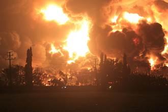 印尼西爪哇煉油廠大火釀5傷  近千人撤離