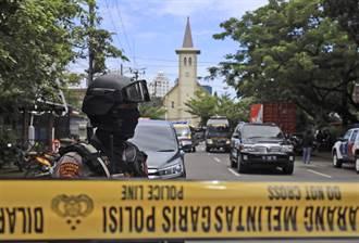 印尼天主教堂遭恐攻 警方:神權游擊隊犯案