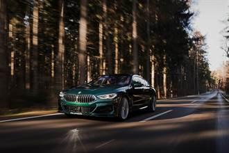 超越M8的存在 BMW Alpina B8 Gran Coupé强袭美国性能市场