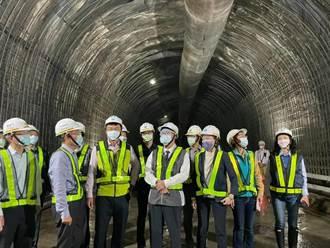 聯合抗旱加強清淤 阿姆坪隧道可望今年完工