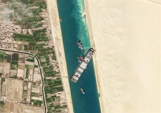 【長榮輪卡運河】埃及總統顧問:蘇伊士運河可望今日開通