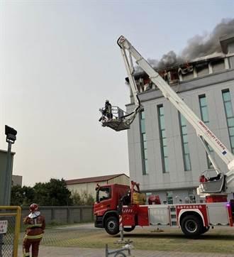 高雄強茂半導體工廠傳火警 濃煙密布員工急逃命