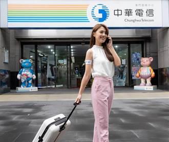 中華電助攻旅遊泡泡 開通帛琉4G漫遊