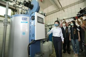 中市推動低碳無油煙校園 130校廚房鍋爐設備汰舊換新