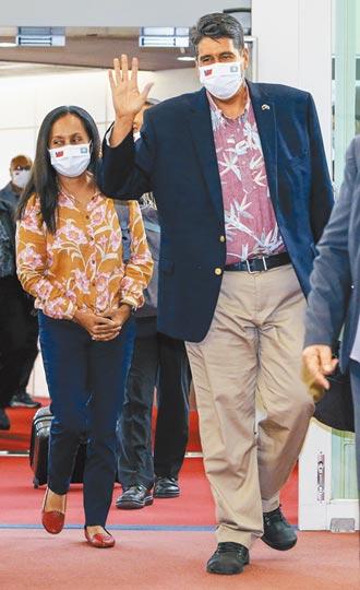 帛琉總統惠恕仁訪台!美國駐帛琉大使倪約翰意外同行