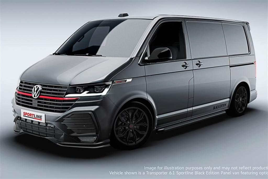 原廠幫你直接改好改滿 VWCV福斯商旅推T6.1 Sportline