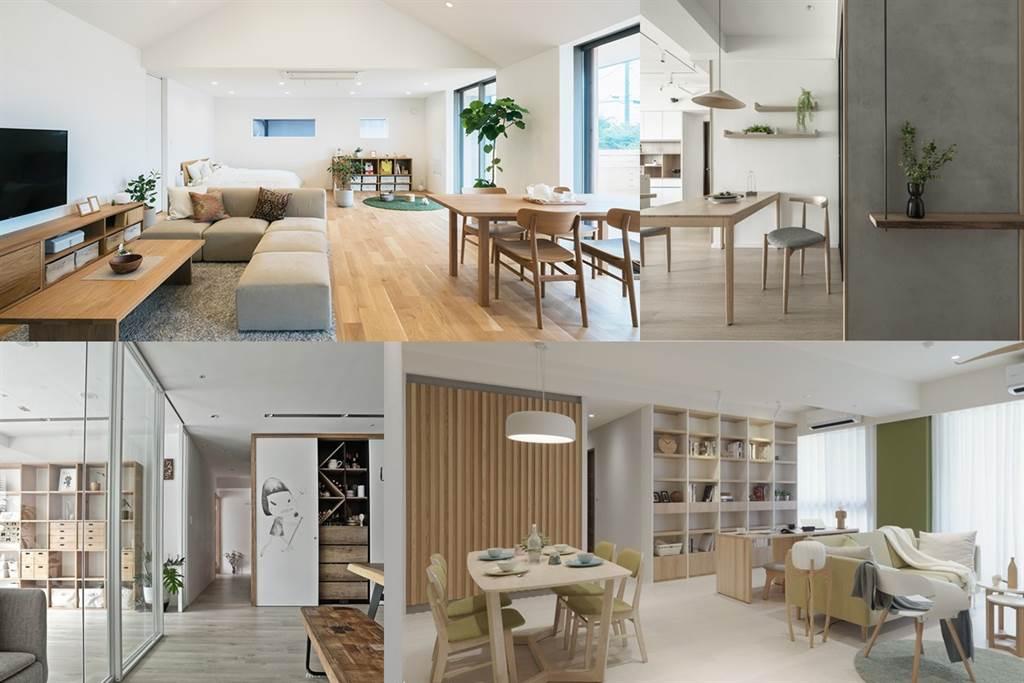 圖片提供/MUJI House 、奧立佛 x 竺居聯合設計、羽筑空間設計、易介室內裝修設計