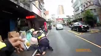 毒犯遭盤查竟拔腿就跑 慘遇練過田徑的警察