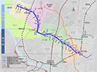 台中捷運藍線20站仍嫌不足? 市議員為民爭取增設龍井坪頂站