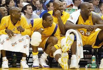 NBA》球星合體不是穩贏 湖人兩次「F4」都敗北