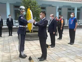 江啟臣大溪謁陵 重申不排斥國共論壇