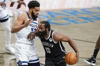 NBA》狂刷六項紀錄 哈登:不在意籃網成為聯盟頭號公敵