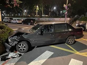 北市男子酒駕連撞路邊5車 酒測值高達1.67